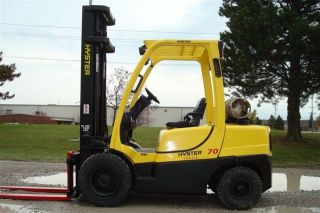 2009 Hyster 6000 Lb - 7000 Lb Capacity Forklift Lift Truck Pneumatic Tire photo