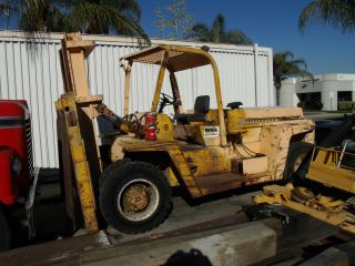 Clark Pneumatic 30,  000 Lb C500y300d Forklift Lift Truck photo
