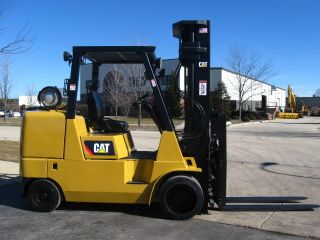 2007 Cat Caterpillar Gc45k 10000lb Cushion Tire Lift Truck Hi Lo photo