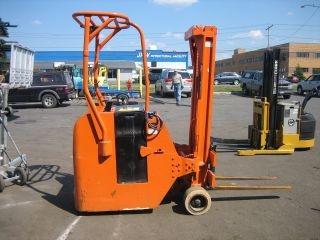 Yale Stand Up Electric Forklift 3000lb Cap.  187