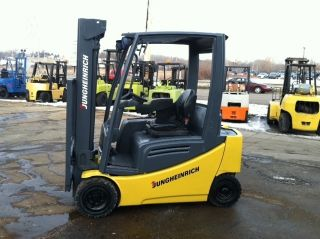 Jungheinrich Electric Pneumatic 4000 Lb Fa4000 Forklift Lift Truck photo