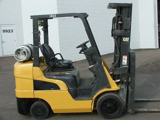 2007 Cat C6000 Lpg Forklift Caterpillar Lift Truck photo