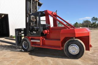 Marine Fork Lift Taylor Tm 120 Forklift - 1998 photo
