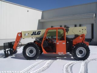 Jlg G9 - 43a Telescopic Telehandler Forklift Lift 9000 Lb Capacity 43 ' Of Lift photo
