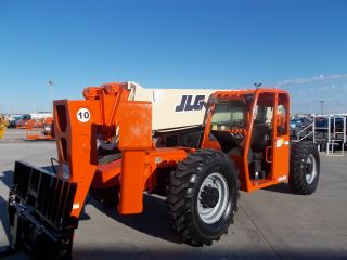 Jlg G10 - 55aa Telescopic Telehandler Forklift Lift 10000 Lb Capacity 55 ' Of Lift photo