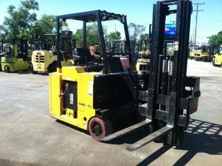 Drexel Swing Mast 2000 Lb Slt22 Electric Forklift Lift Truck photo