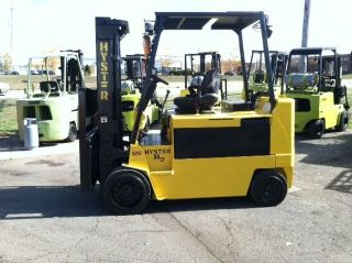 Hyster Electric Cushion 12000 Lb E120xl3 Forklift Lift Truck photo