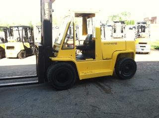 Hyster Pneumatic 13500 Lb H135xl Forklift Lift Truck photo