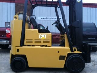Mitsubishi/caterpillar Cushion Fgc35 8000 Lb Forklift Lift Truck photo