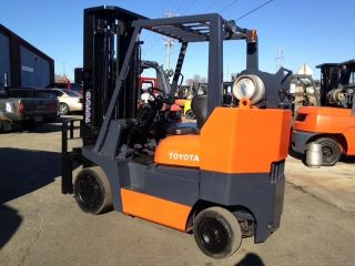 Toyota Cushion Box Car Special 52 - 6fgcu35 - Bcs 8000 Lb Forklift Lift Truck photo