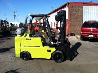 Clark Cushion 6000 Lb C60 Forklift Lift Truck photo