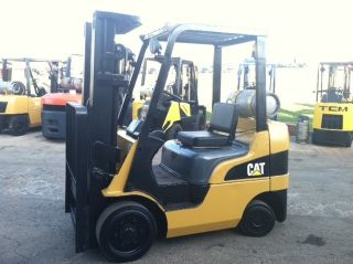 2005 Caterpillar Cushon C5000 5000 Lb Forklift Lift Truck photo