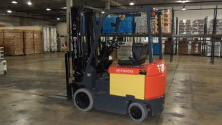 Toyota Forklift 2005 Electric 7fbcu25 photo