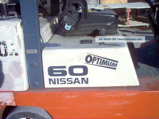 Four Way Side Loader Forklift Mitsubishi Rbm2025k Series: Forklift Nissan 60 Optimum Side