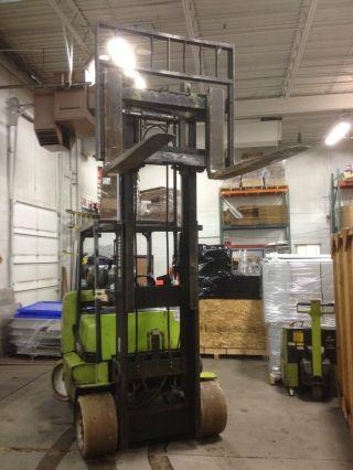 Clark Forklift Cgc55 12000lb Lift 100