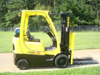 2006 Hyster 5,  000 Lb.  S50ft Forklift Truck photo