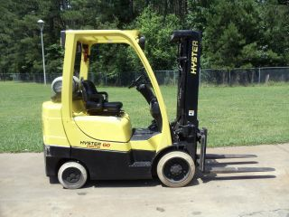 2005 Hyster 6,  000 Lb.  S60ft Forklift Truck photo