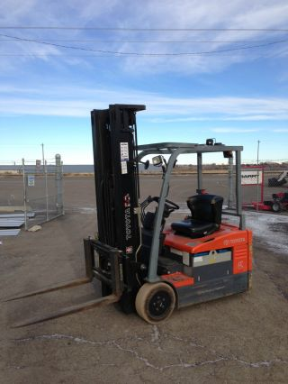 2005 Toyota Electric Forklift 7fbncu18 3 - Stage,  218