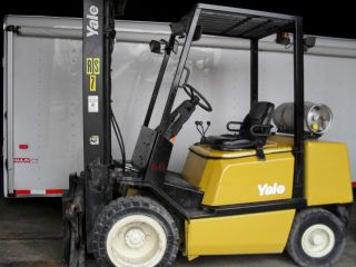 Yale Glp060tgnuae093 Fork Truck / Fork Lift photo