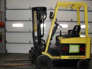 Hyster E60xm2 - 33 Fork Truck / Fork Lift photo