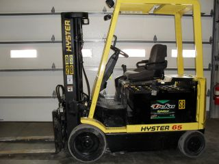 Hyster Electric E65xm - 2 Fork Truck / Fork Lift photo