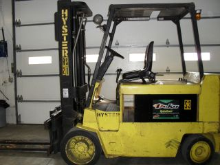 Hyster Electric E100xls Fork Truck / Fork Lift photo