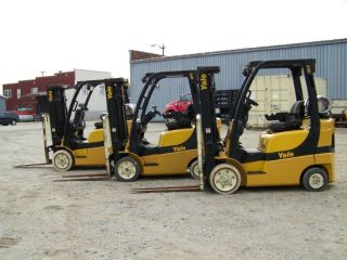 Yale 50 Vx 5000 Lb Forlift photo