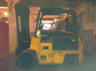 Yale - 15,  000 Cap.  Electric Forklift photo