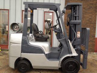 Mitsu/nissan 6000 Lb Cushion Fgc30n Forklift Lift Truck photo