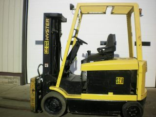 Hyster E65xm - 2 Electric Fork Truck / Fork Lift photo