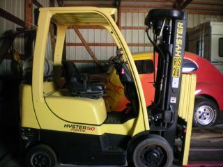 Hyster S50ft Fork Truck / Fork Lift photo
