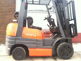 Toyota Cushion 5000 Lb 42 - 6fgcu25 Forklift Lift Truck photo