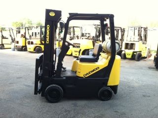 Daewoo Cushion 3000 Lb Gc15 Forklift Lift Truck photo