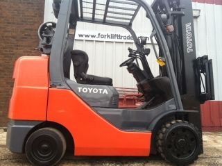 Toyota Cushion 6500 Lb 8fgcu32 4 Way Hydraulics & Low Hours Forklift Lift Truck photo