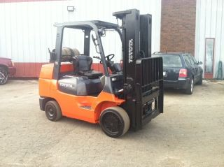 2003 Toyota Cushion 7fgcu35 8000 Lb Forklift Lift Truck photo