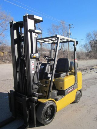 Caterpillar Forklift Lift Truck Hilo Fork,  6,  000lb Hyster Cat Yale photo