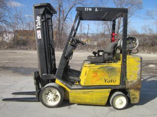 Yale Glc060 Forklift Lift Truck Hilo 6,  000lbs photo
