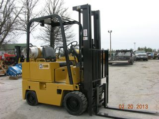 Caterpiller T30d Fork Lift 3000lb Lift 2 Stage & Side Shift photo