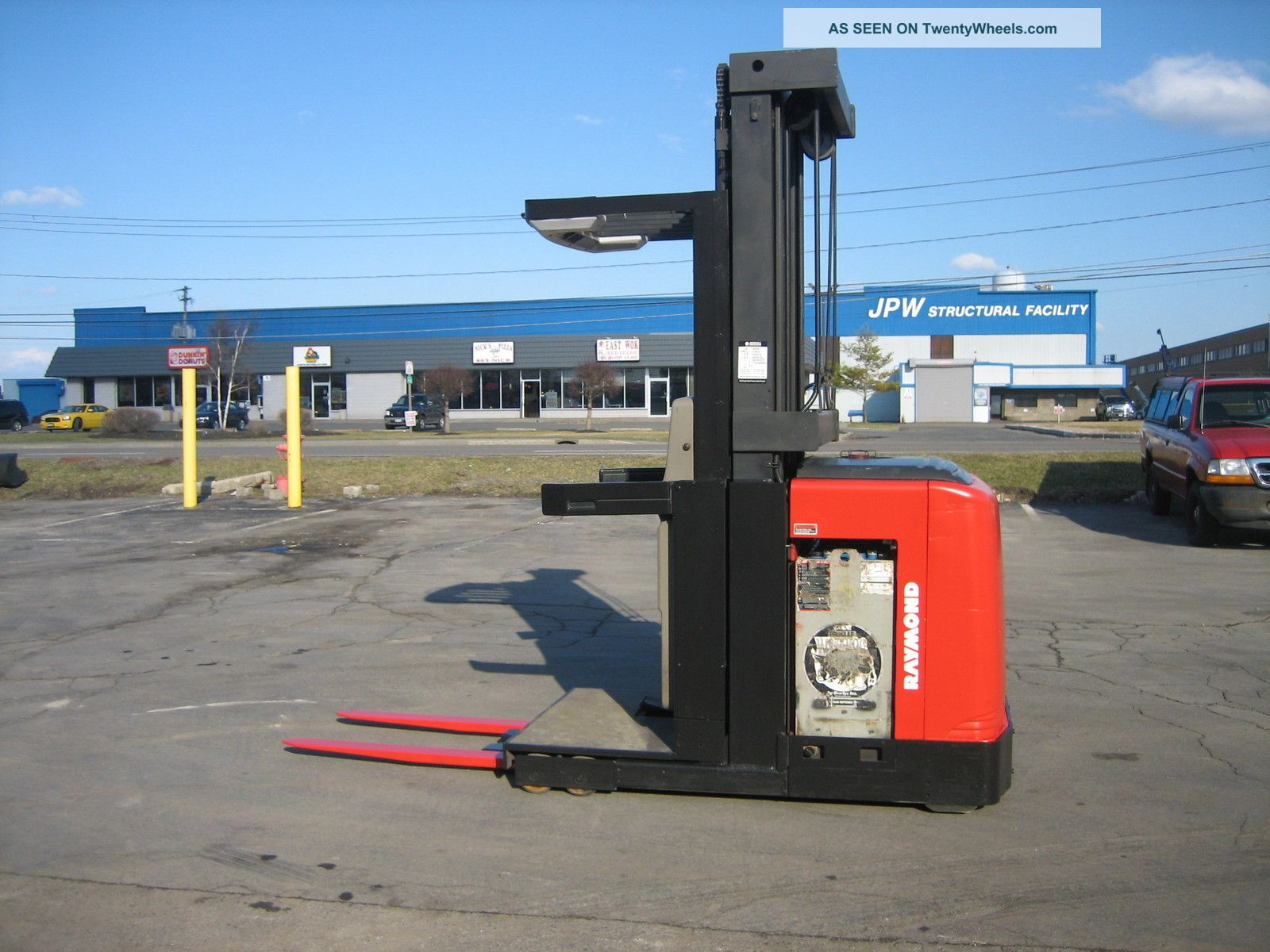 1999 Raymond Forklift Order Picker 3000lb Capacity 20 Very Clean 42 Quot Forks