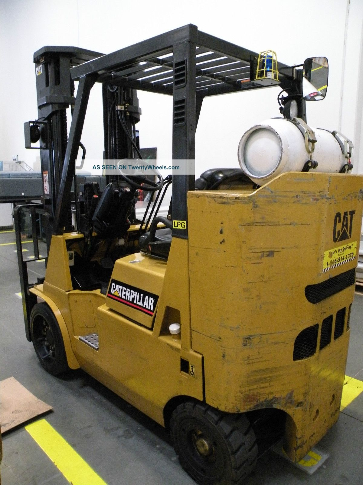 2005 Caterpillar Gc40ksi Forklift Other photo