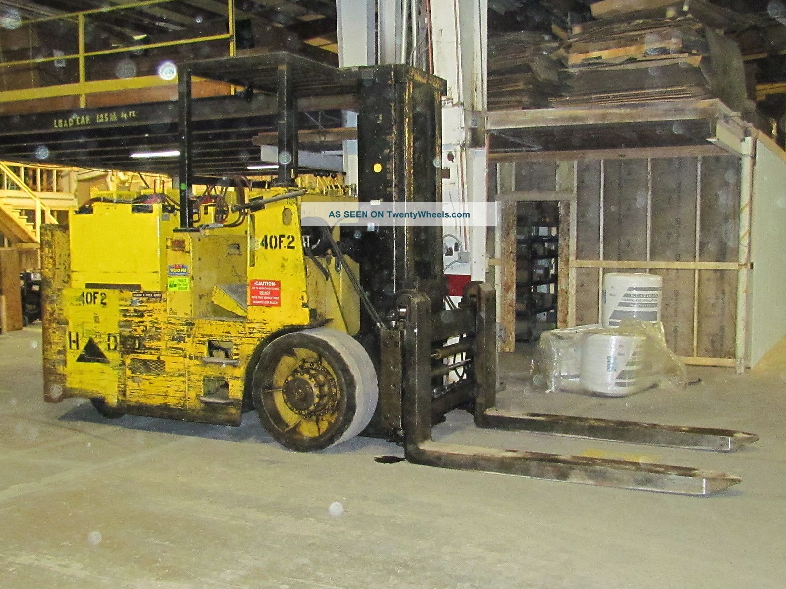 Elwell - Parker 40000 Lb Capacity Autolift Electric Forklift Coil Handler Forklifts & Other Lifts photo