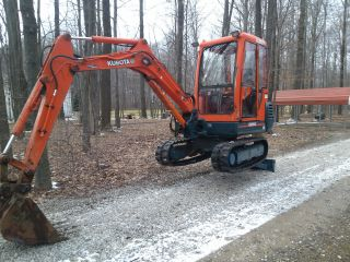 Very Good Kubota Kx91 - 2 Mini Excavator,  New Tracks,  Cab W/ Heat photo