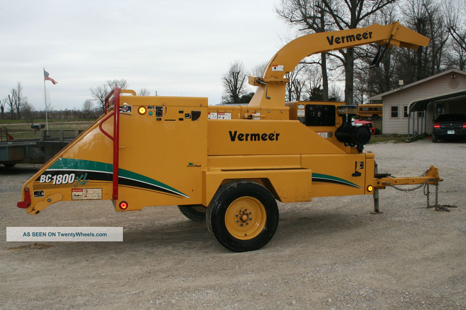 Construction - Heavy Equipment & Trailers - Wood Chippers