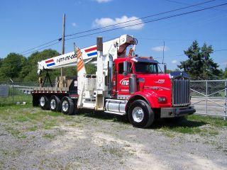 Pioneer4000 Manitex Kenworth 28 Ton Boomtruck 94 Main Boom; 44 ' Jib Cummins Dsl photo