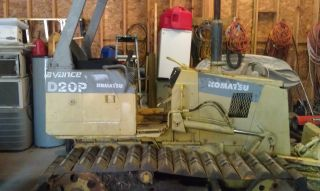 D20p Komatsu Crawler With Joy Stick Control ' S Rebuilt photo
