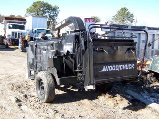 Wood/chuck Hyroller 1200 Diesel Chipper photo