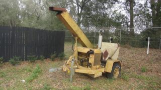 Asplundh Gas Pull Type Chipper photo