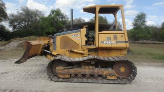 John Deere 650h Lgp 6 Way Crawler Dozer photo