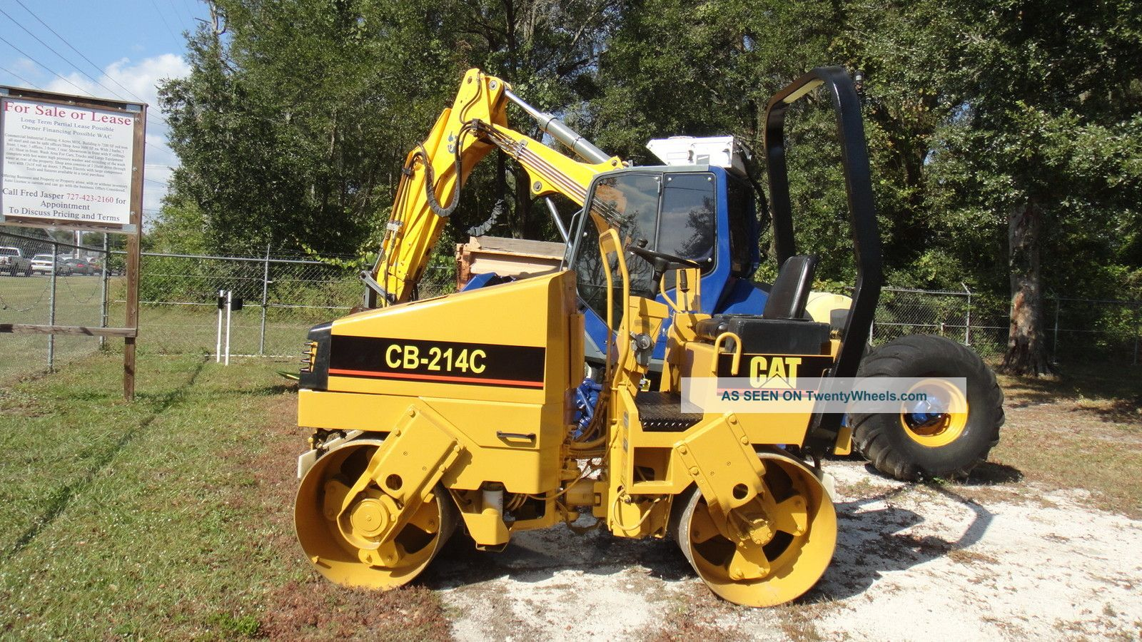 Caterpillar Cb214c Vibratory Roller,  Double Drum,  Low Hrs Compactors & Rollers - Riding photo