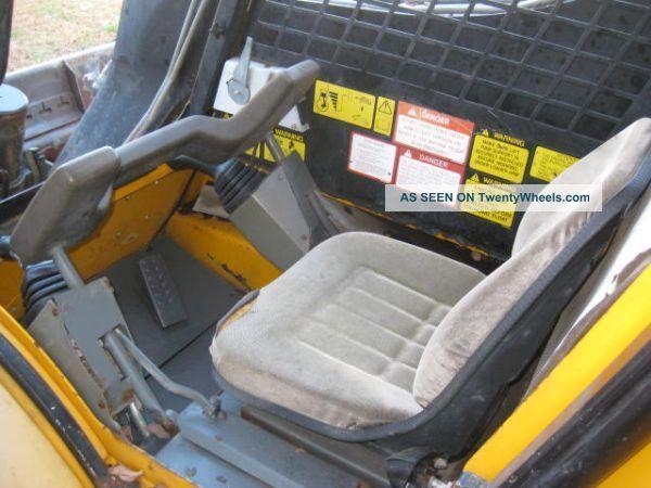 1998 Jcb Robot 185 Skidsteer Bobcat Perkins Diesel Loader